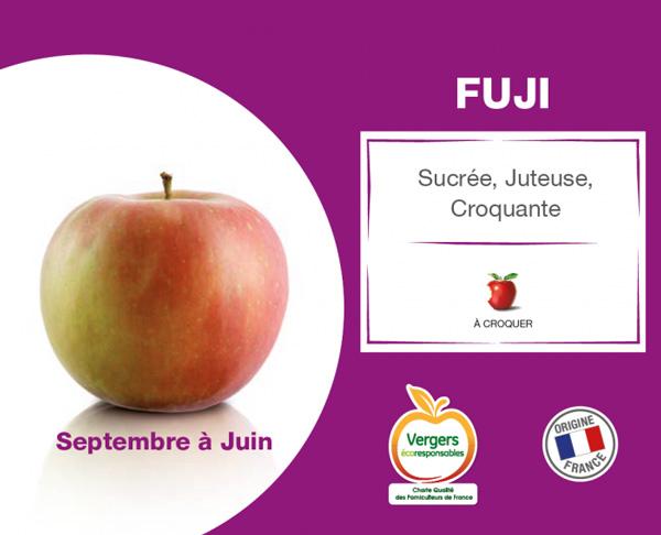 fiche pomme fuji