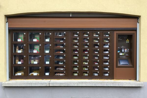 Un distributeur automatique fruit legume à Westhoffen à la Ferme Dettling